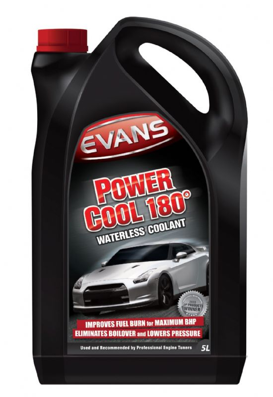 Evans Waterless Engine Coolant Power Cool 180°C 5litres EVPC1805L